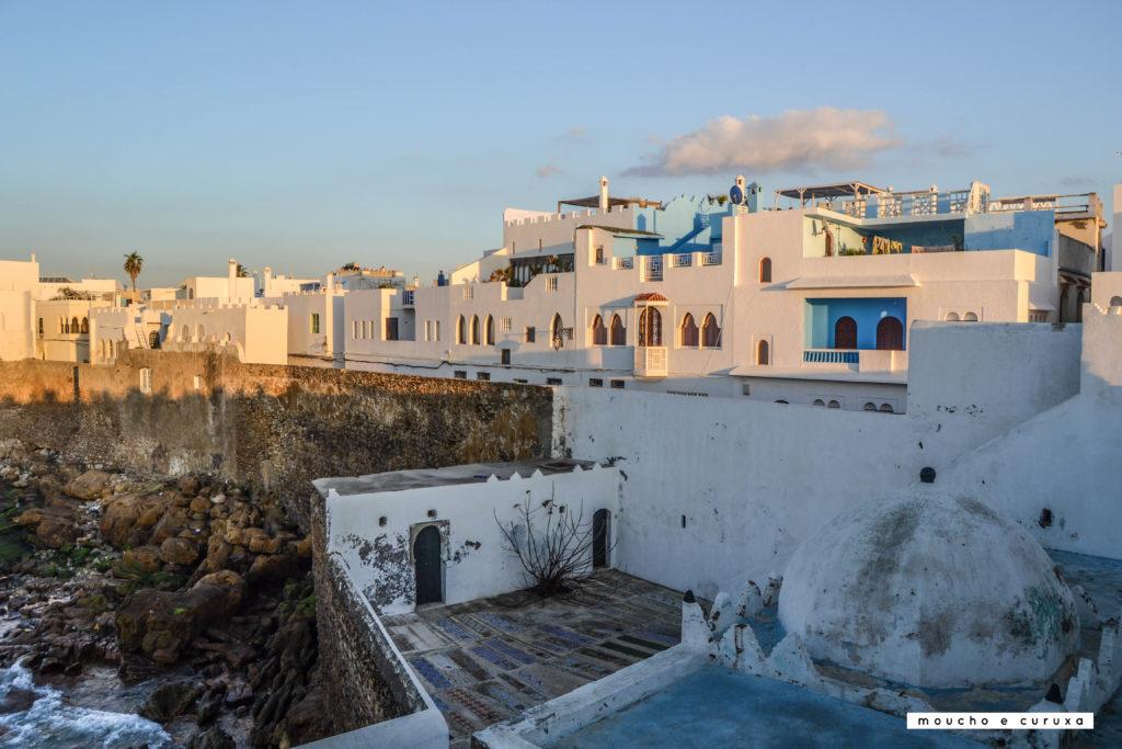 Vistas desde el mirador de Krikiya - Assilah