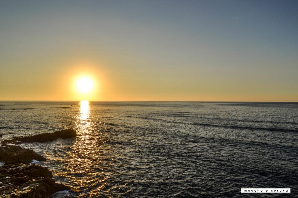 Puesta de sol desde el mirador de Krikiya