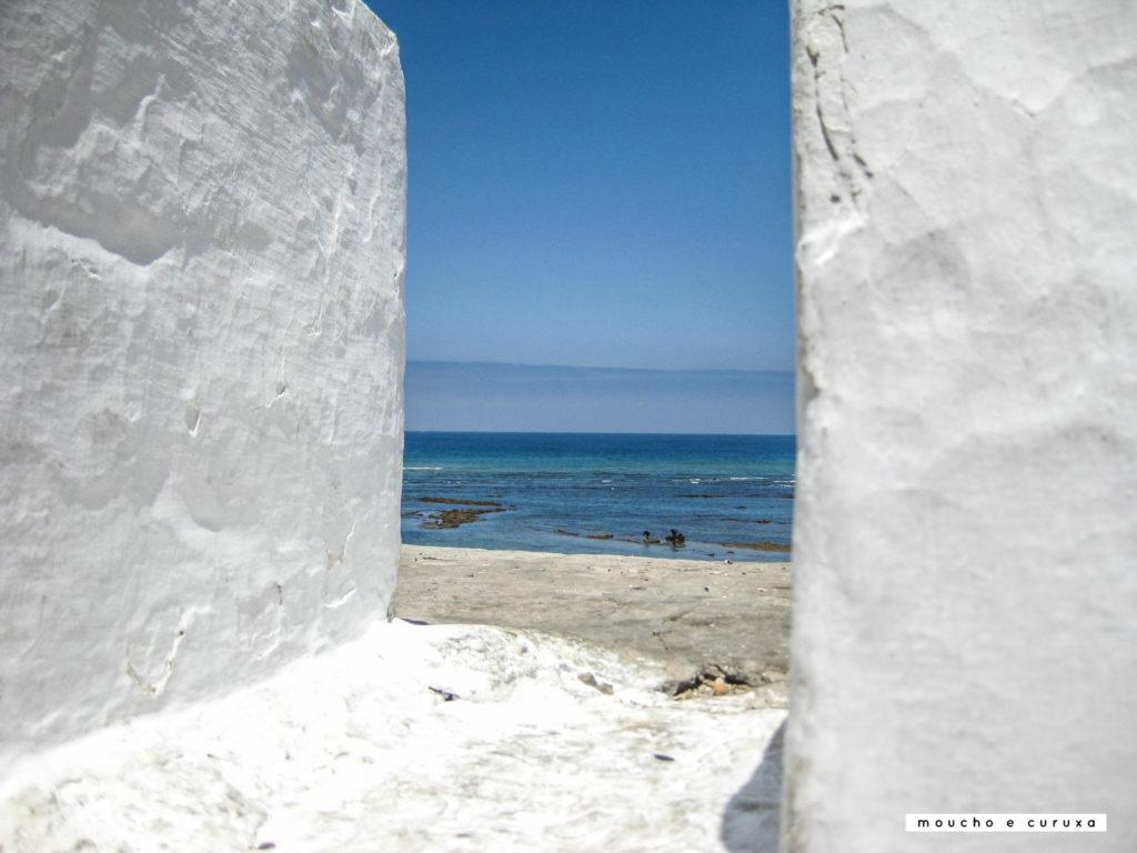 Vistas al mar desde la muralla de Assilah