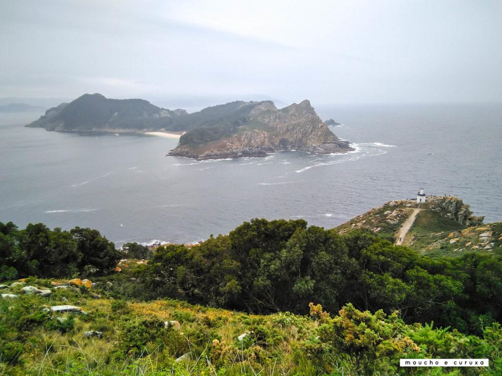 Isla San Martiño. Ruta faro de las Cíes - Islas Cíes