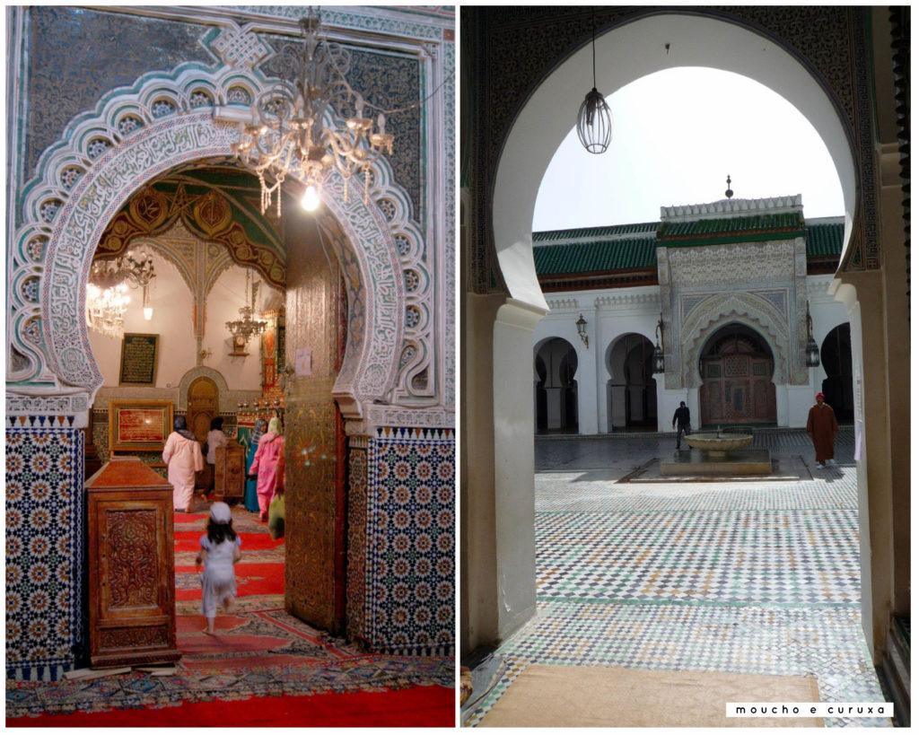 Mezquita y Mausoleo - Fez
