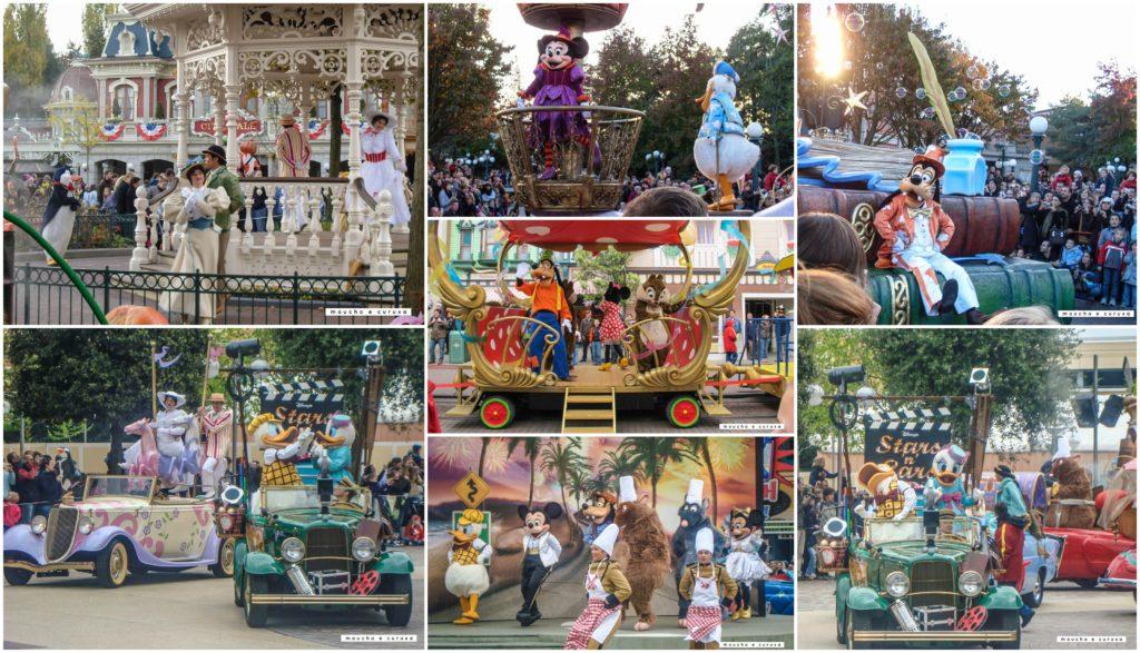 Desfiles y actuaciones Disneyland París
