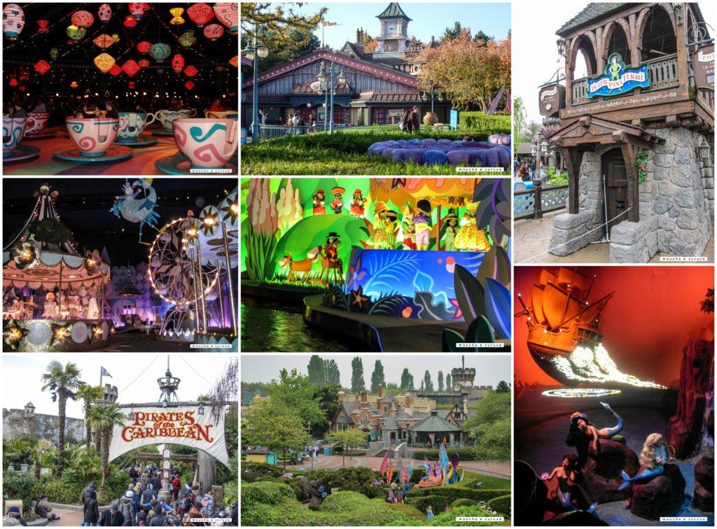 Mejores atracciones Disneyland París