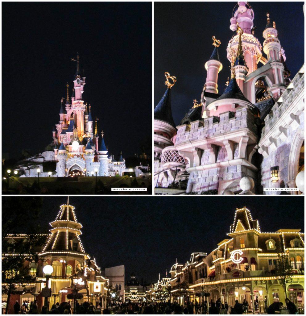Disneyland París de noche