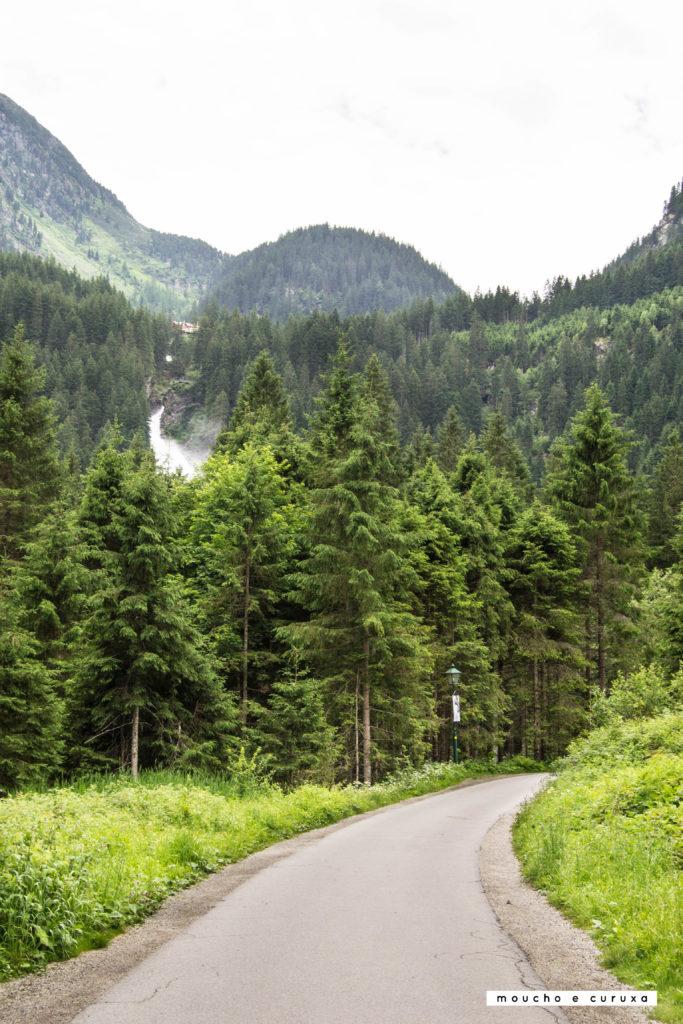 Cataratas Krimml - Acceso