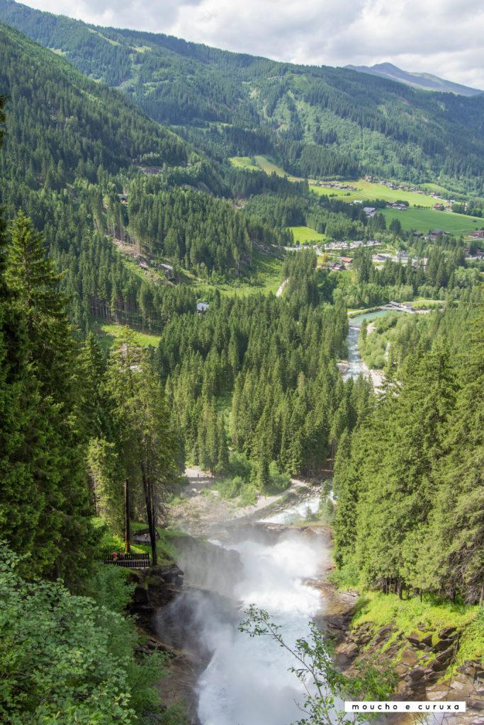 Cataratas Krimml - Vistas del valle