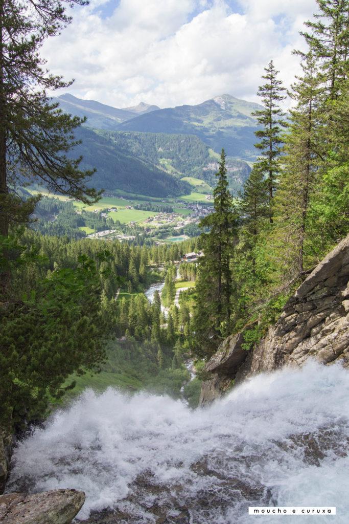 Cataratas Krimml - Inicio de la cascada