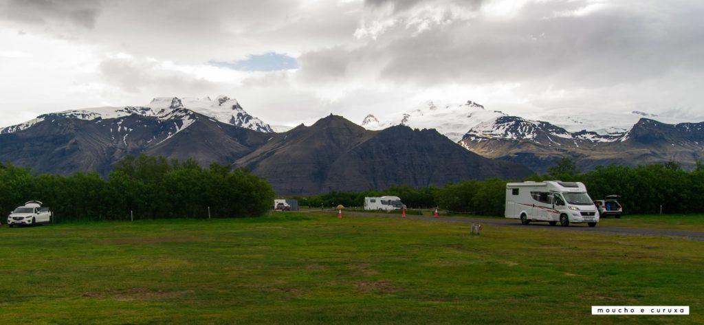 Camping Skaftafell - Islandia