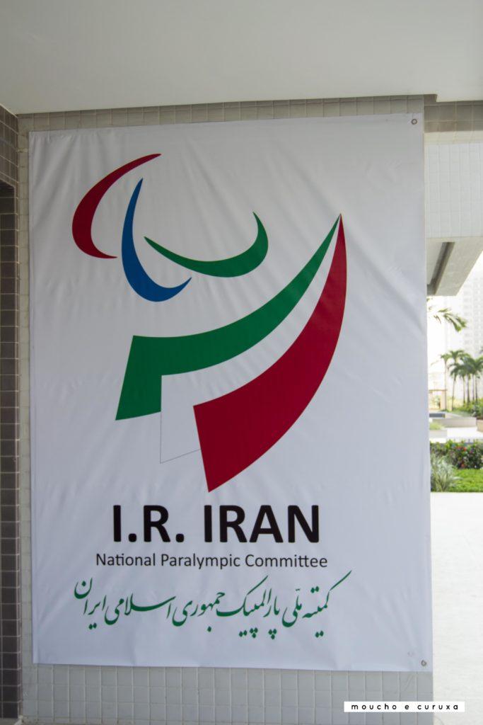 Cartel comité paralímpico Irán