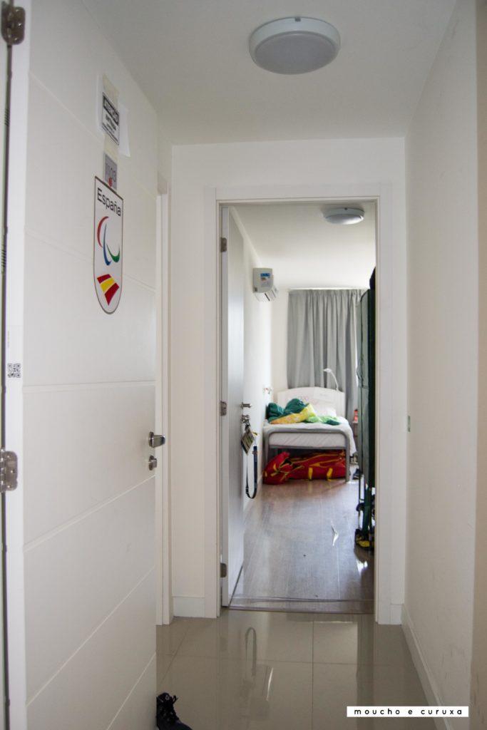Villa Paralímpica Río de Janeiro - entrada apartamento