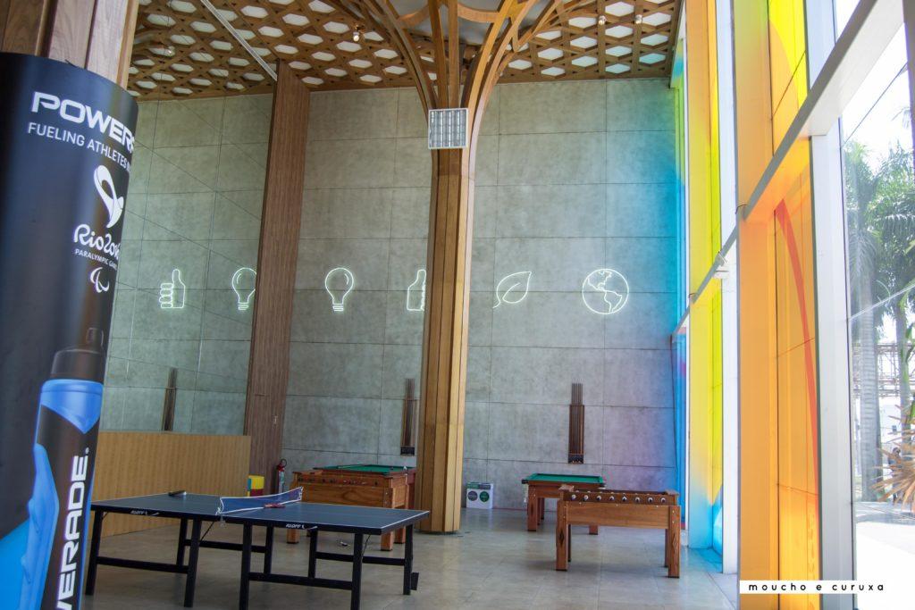 Villa Paralímpica Río de Janeiro - zona de recreo