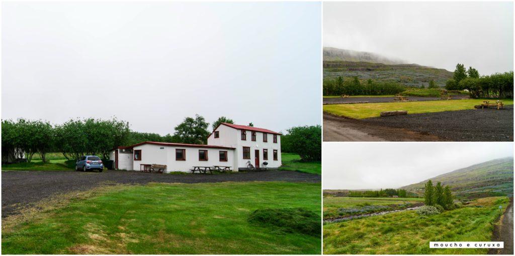 Camping Fossárdalur - Islandia