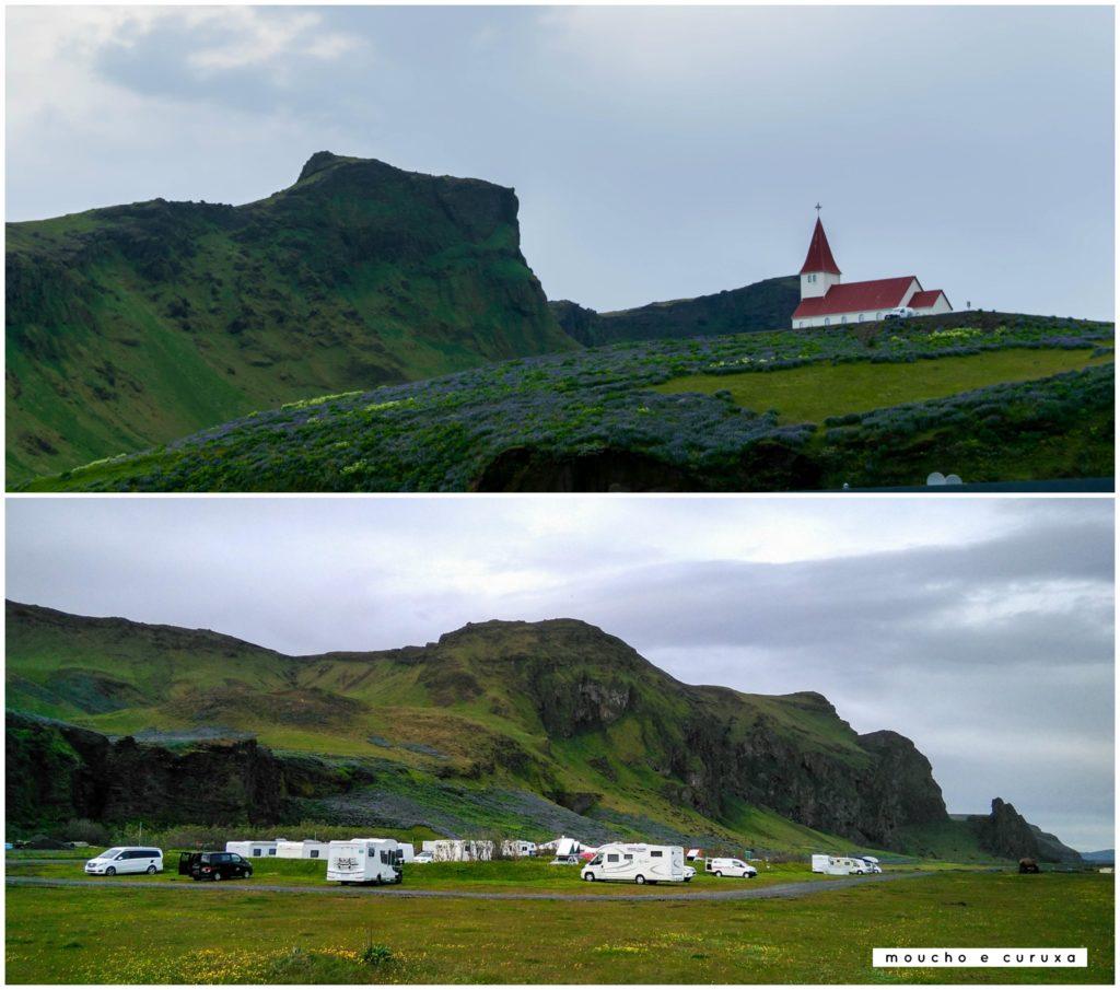 Camping Vik - Islandia