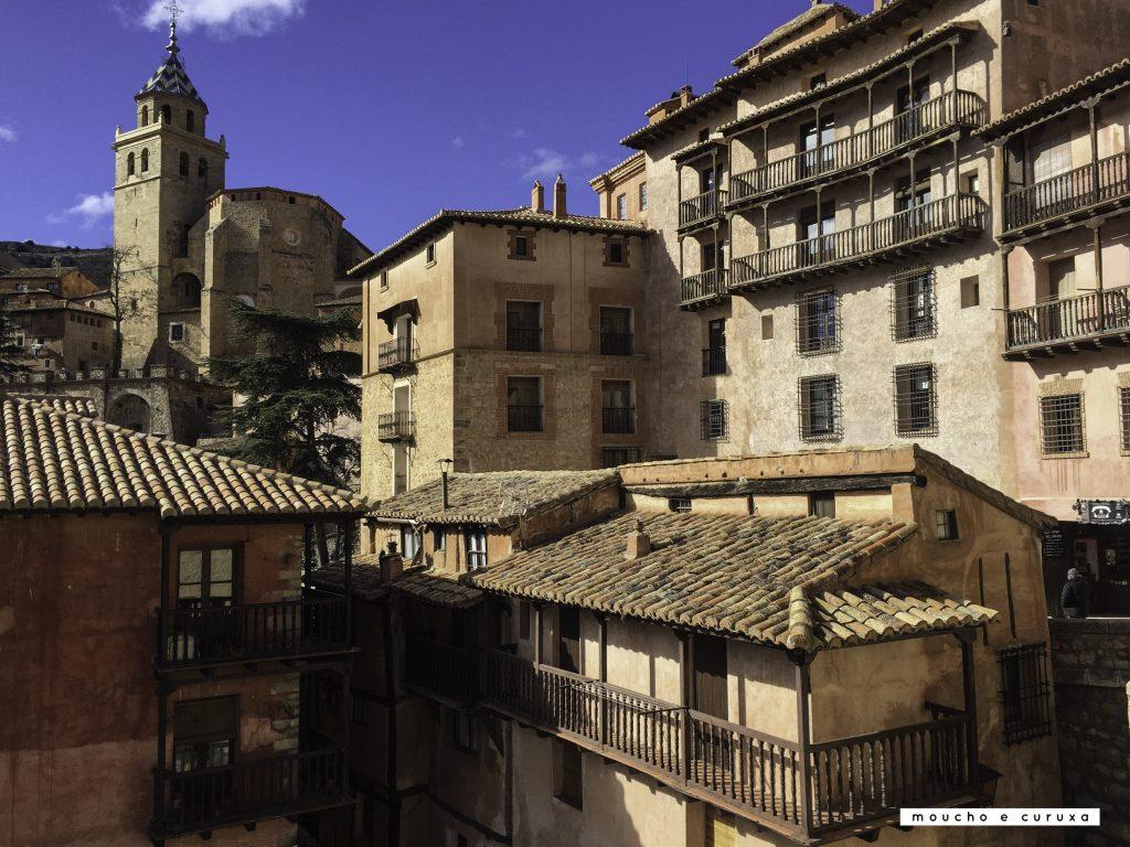 Albarracín, vista desde la Plaza Mayor