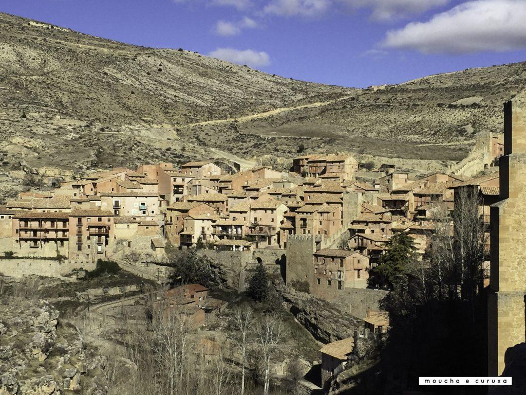 Albarracín, de camino al mirador del Guadalaviar