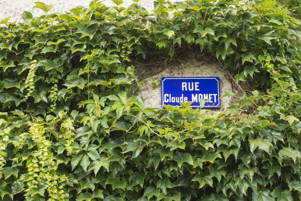 Giverny - Rue Claude Monet